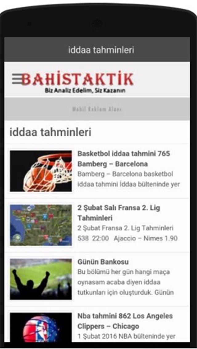 Bahistaktik