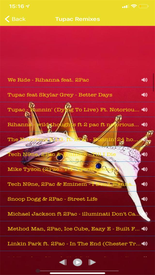 Rap Music - Tupac (2pac)