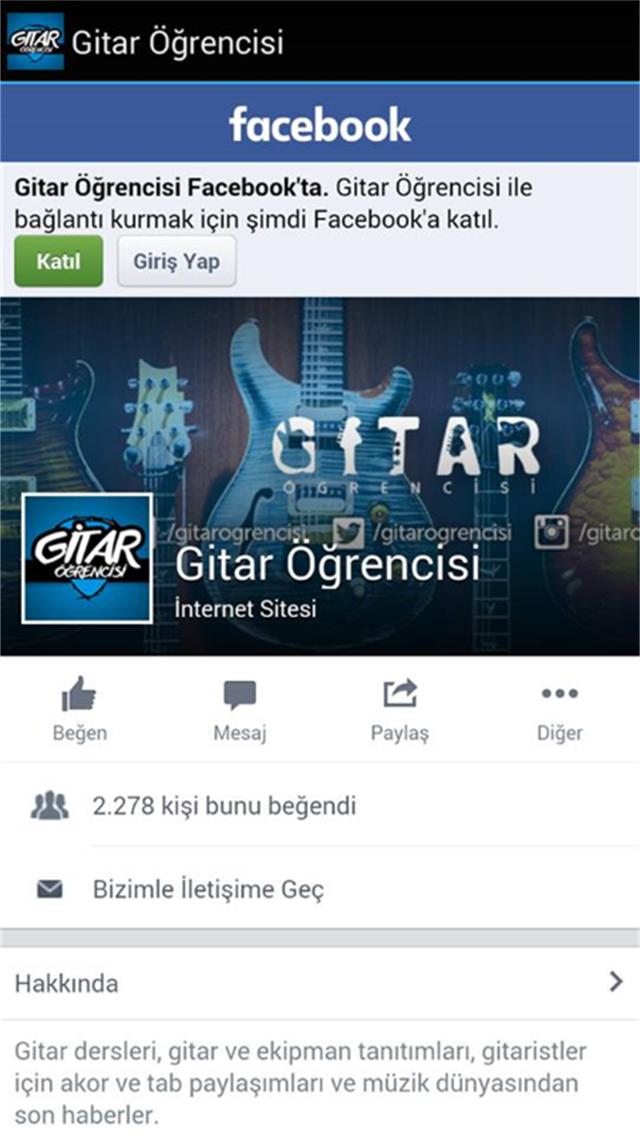 Gitar Öğrencisi