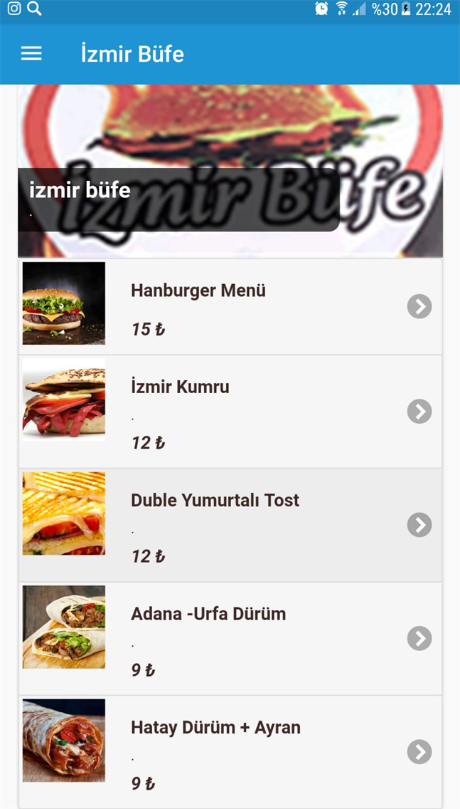 İzmir Büfe