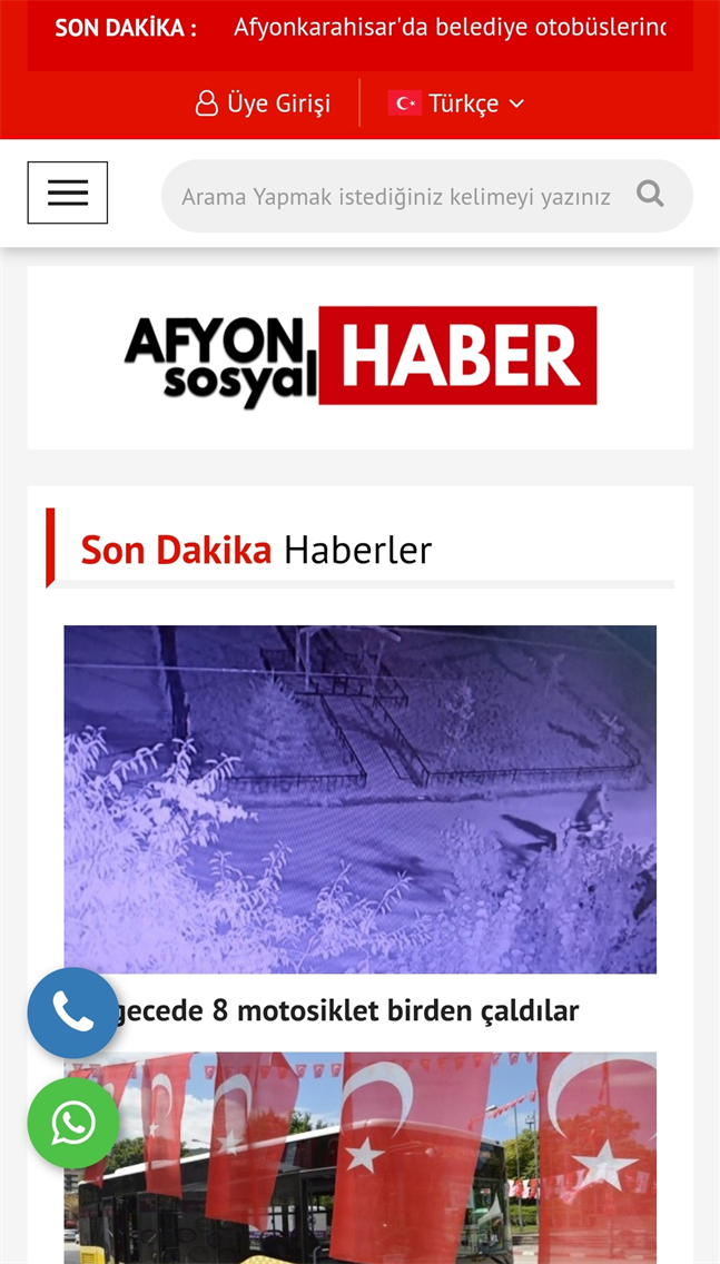 AFYON SOSYAL HABER