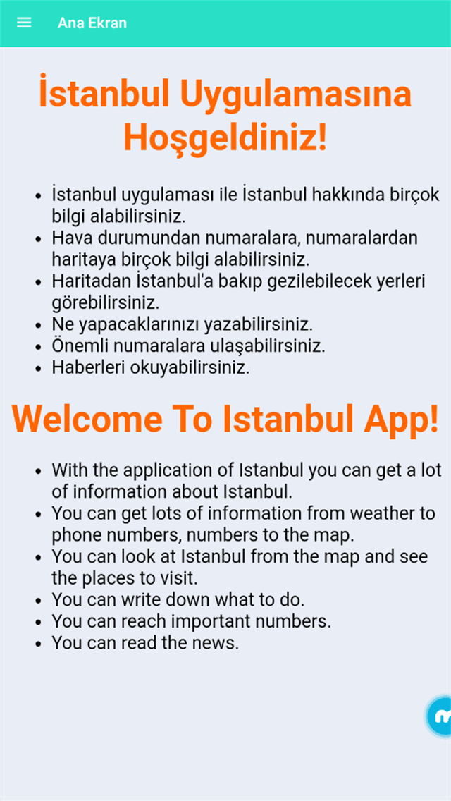 İstanbul Uygulaması