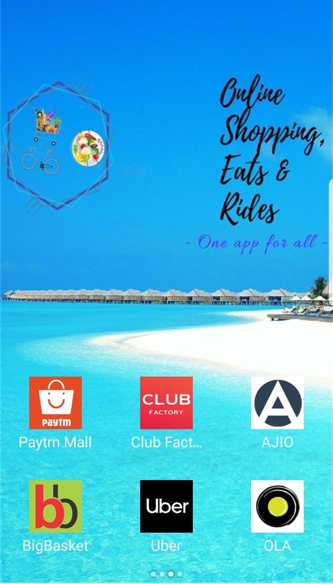 Online Shopping, Eats & Rides