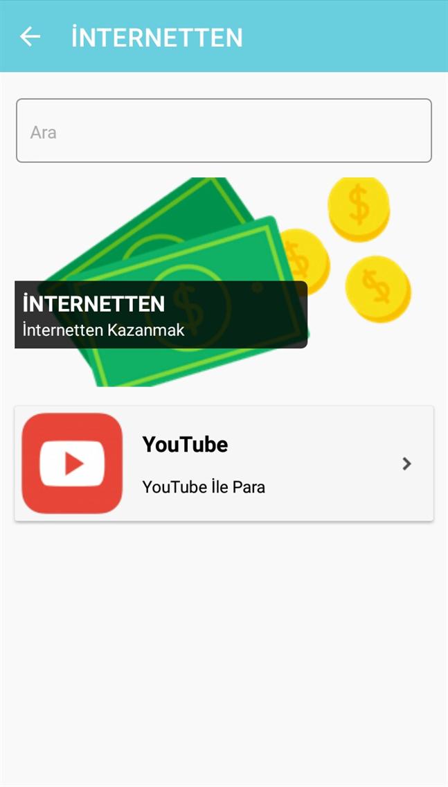 İnternetten/Evden Para Kazanma
