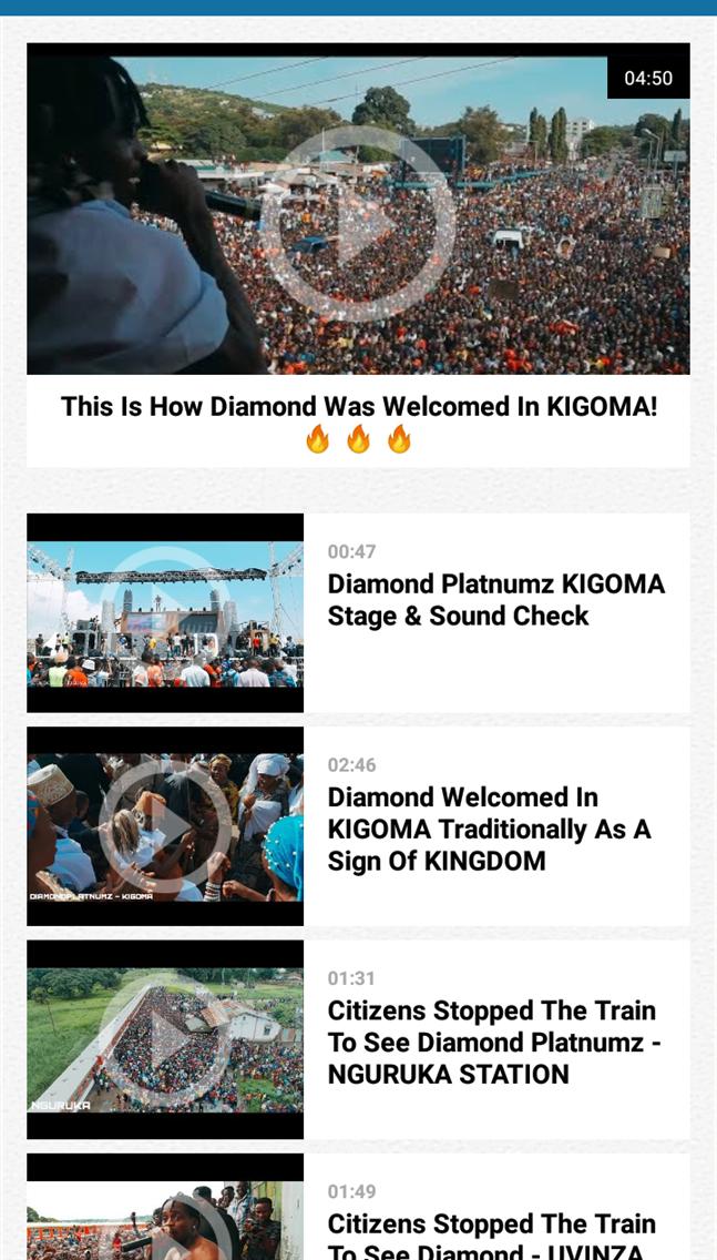Diamond Platnumz App