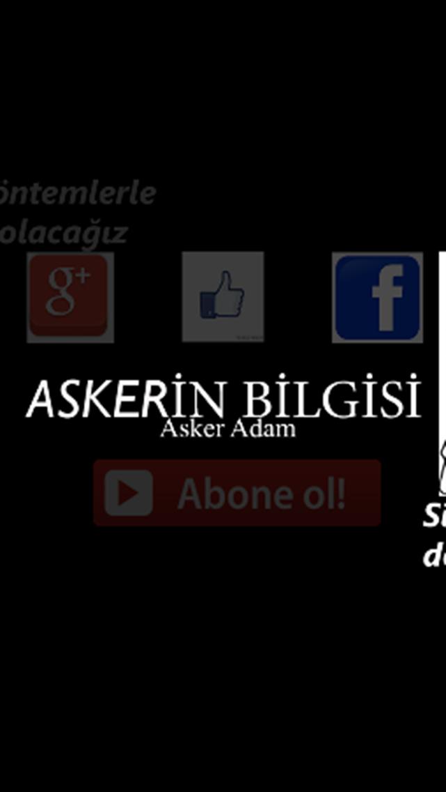 ASKERİN BİLGİSİ