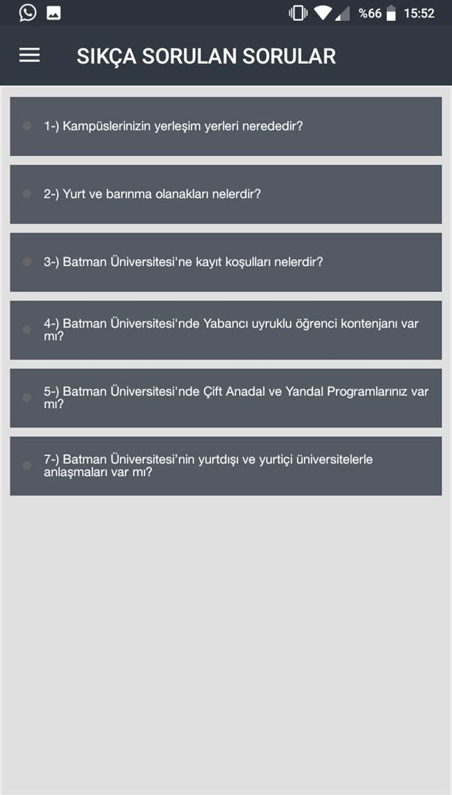 BATMAN ÜNİVERSİTESİ