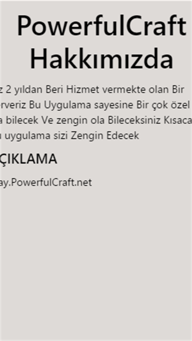 PowerfulCraft