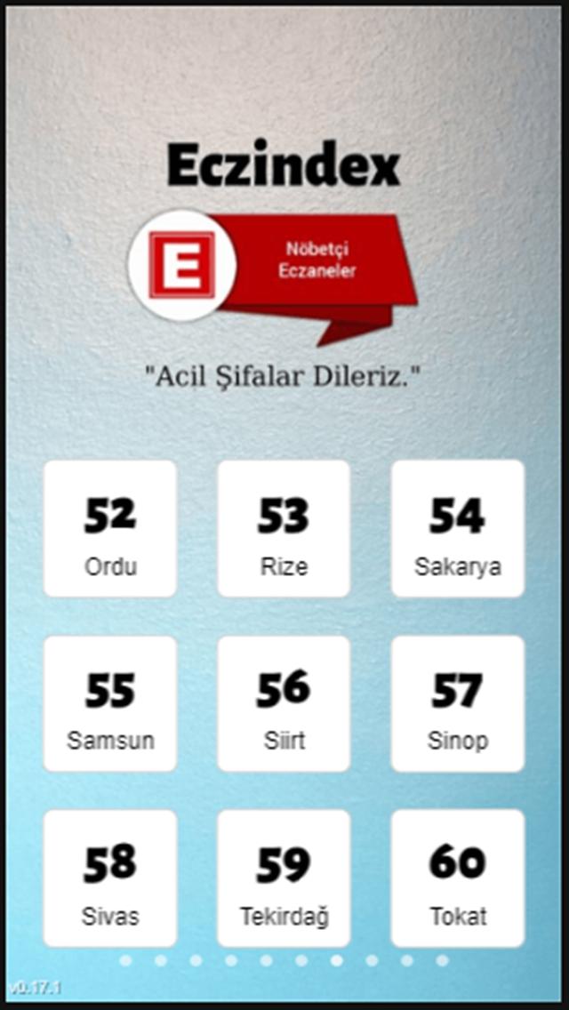 Eczindex Nöbetçi Eczaneler