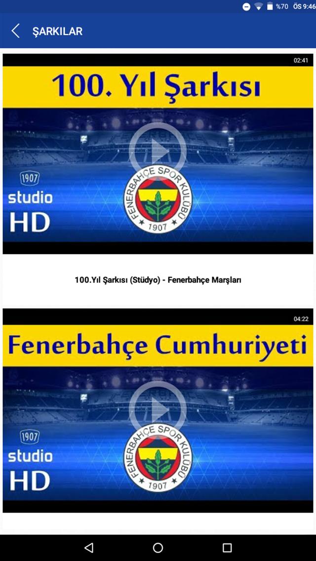 Fenerbahçe Taraftar Uygulaması